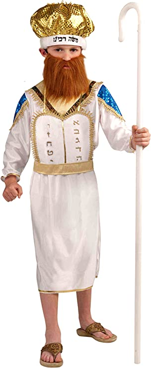 Forum Novelties Moshe Purim Child Costume, Large