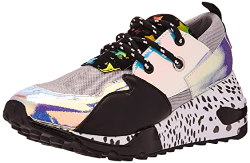 Sneaker Steve Black Madden esZapatos Y Cliff SilverAmazon jUMpqVGLzS