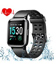 ONSON Fitness Tracker, IP68 Waterproof Activity Tracker Watch, Pedometer Watch, Sleep Monitor, Step Counter, Slim Smart Watch Sport Watch for Kids Women and Men