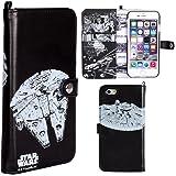 iPhone6s iPhone6 ケース 手帳型 STAR WARS スターウォーズ ストーリー ブックケース / Millennium Falcon
