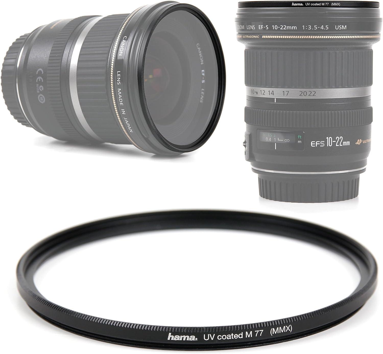 DURAGADGET Slim 77mm UV Filter Lens Protector for Sigma 50mm F1.4 EX DG HSM