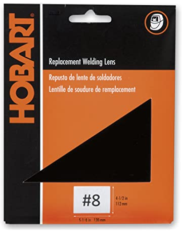 Hobart 770219 Welders Weld-It Shaded Lens, Shade #8, Standard Size