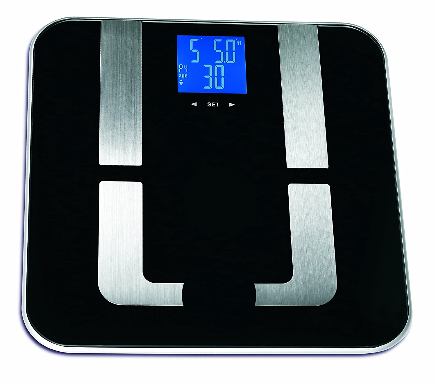 Amazon scale bathroom - Amazon Com Epica Precision Pro Digital Body Fat Scale 397 Lbs Capacity Auto Recognition Technology Health Personal Care
