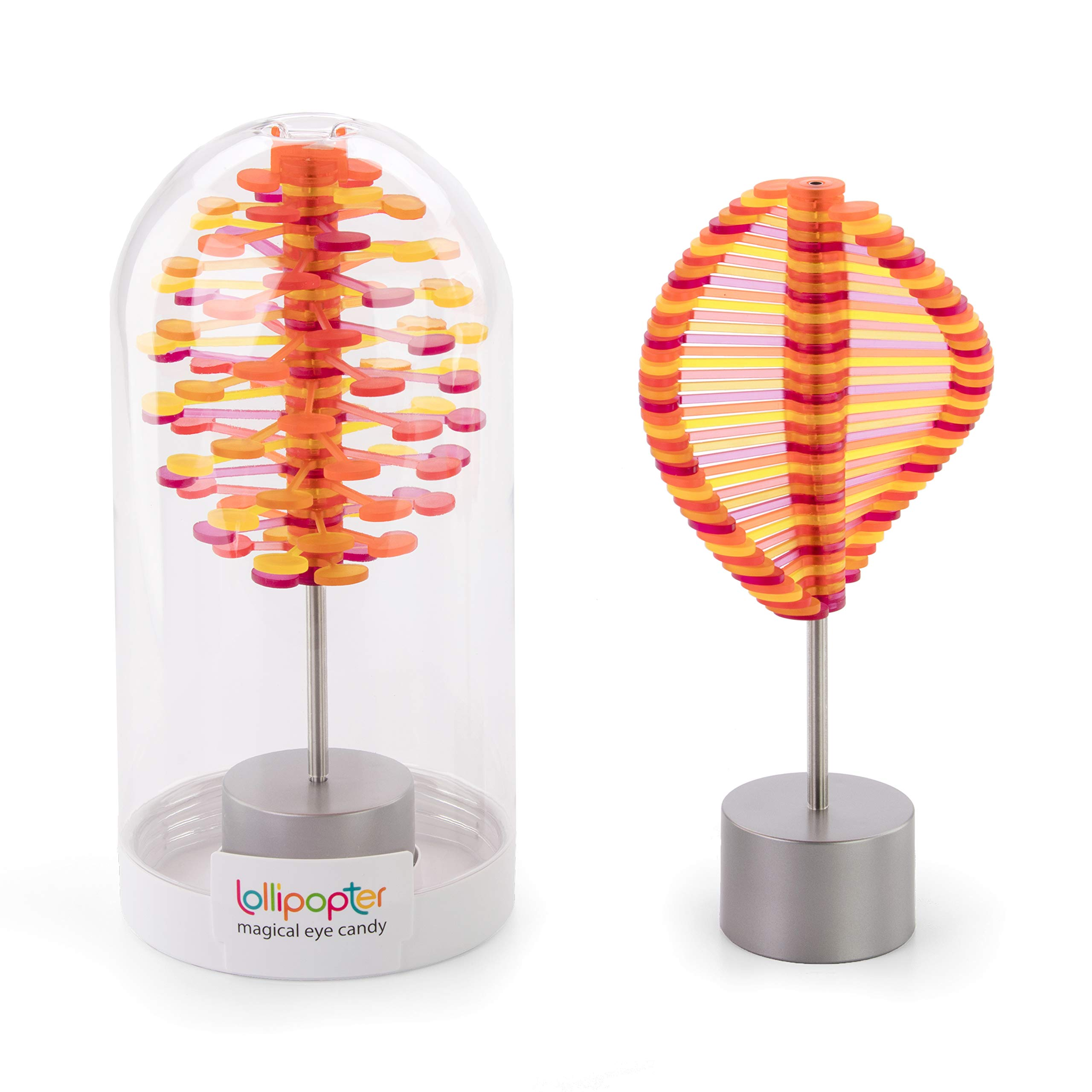 playableART A0456 Lollipopter - Mango Fandango Translucent (Domed Tube Packaging) Toy, Large by playableART