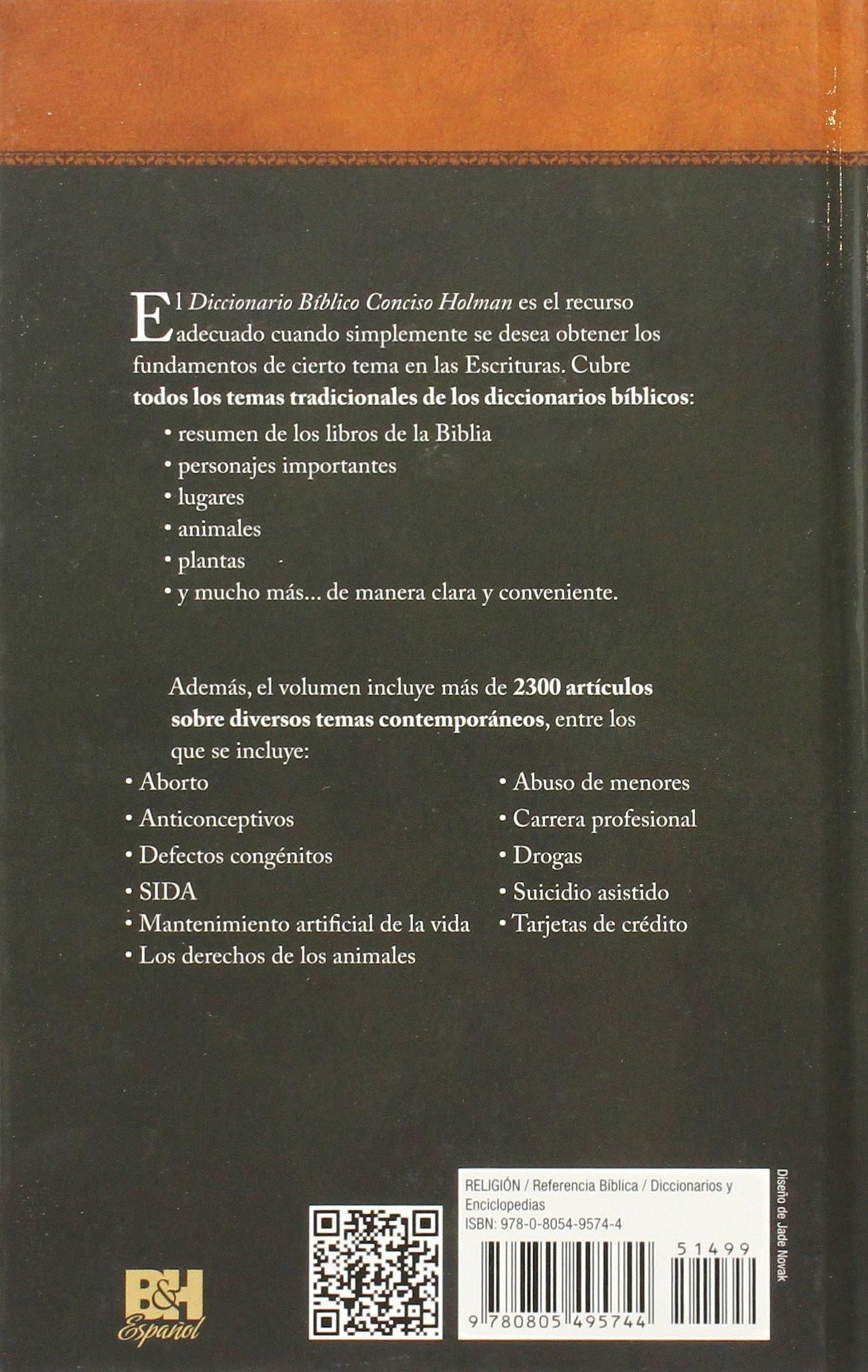 diccionario biblico conciso holman pdf