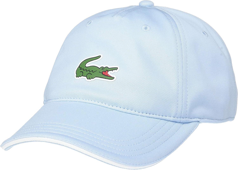 Lacoste Men/'s Small Croc Logo Classic Adjustable Strapback Sport Hat Cap