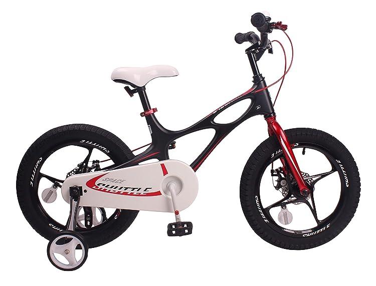 Royalbaby Space Shuttle kid's bike, lightweight magnesium frame with training wheels, 14 inch wheels