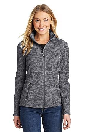 271bfe2345b Port Authority Women s Digi Stripe Fleece Jacket at Amazon Women s Coats  Shop