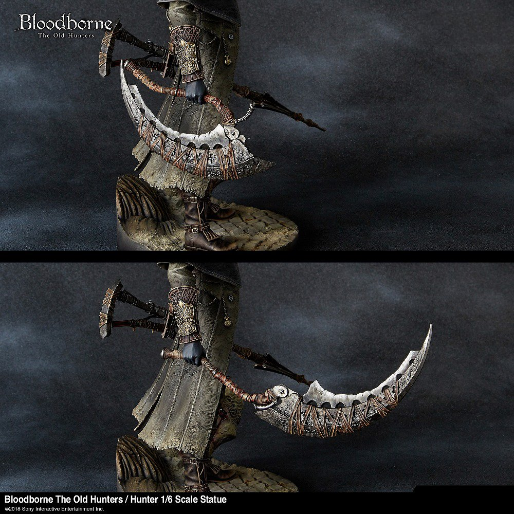 amazon bloodborne the old hunters 狩人 1 6 スケール スタチュー