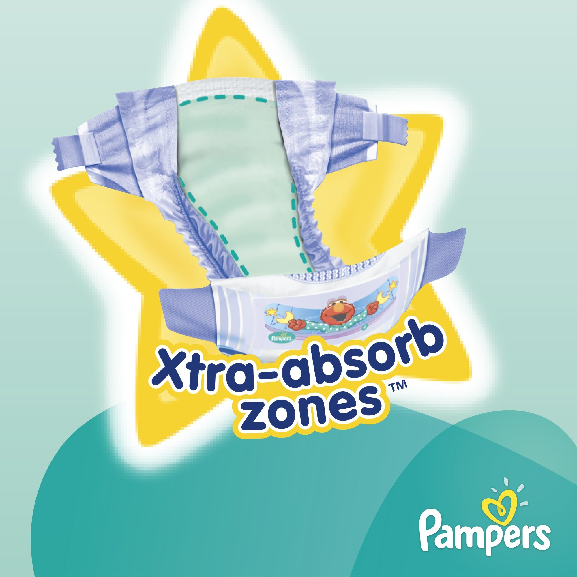Pampers Extra Protection Diapers - Size 5 - 21 ct