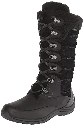 Timberland Women's EK Willowood WP INS Snow Boot,Black,5