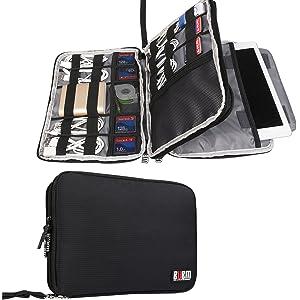 Electronics Travel Organizer Waterproof Storage Bag (Gray)