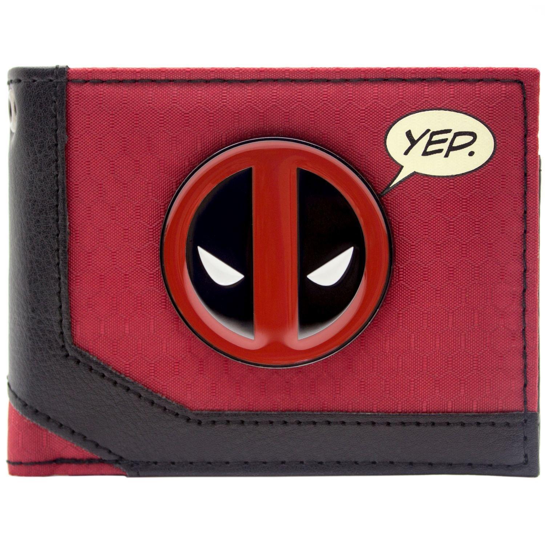 Marvel Deadpool Merc con una bocca Rosso portafoglio 28926