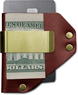 product image for American Bench Craft Men's Money Clip Wallet, Leather Credit Card Holder Money Clip