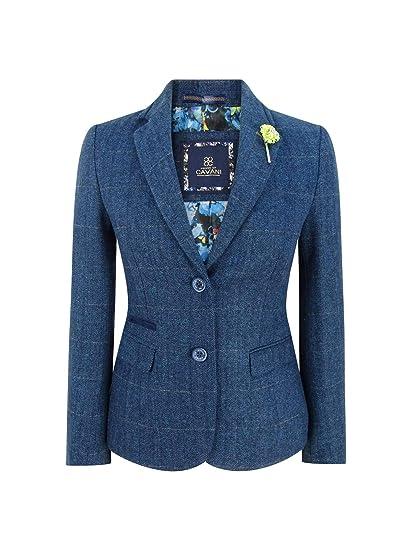 Veste en tweed à carreaux en 2019 | Veste tweed, Blazer en