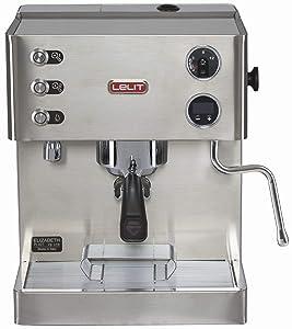 Dualboiler-Espresso Siebträgermaschine Lelit Elizabeth PL92T