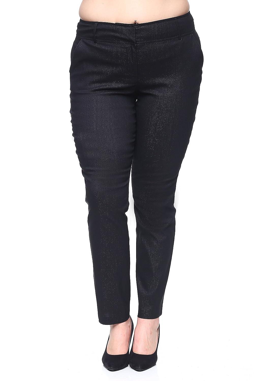 Rokoko Women's Plus Size Skinny Ankle Trouser Pants