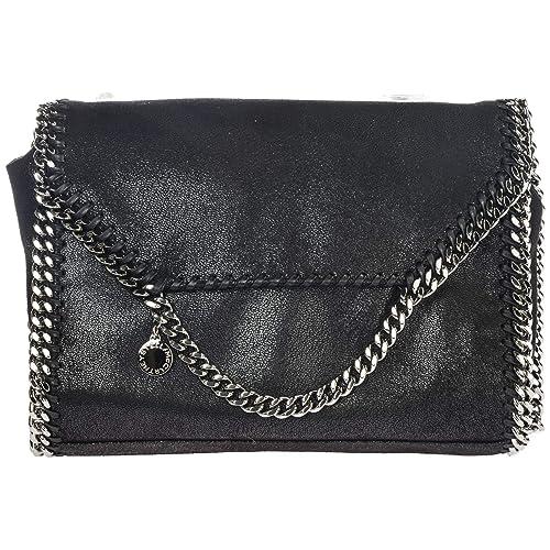 77d1e48334ee0 Stella Mccartney women Falabella shoulder bag nero  Amazon.co.uk  Shoes    Bags