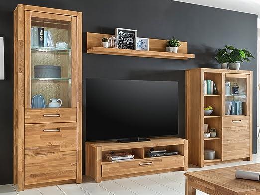 Wohnwand Schrankwand Anbauwand Mediawand TV-Wand Wohnzimmerwand