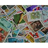 60 British Commonwealth stamps. A great selection. A really good colourful start from the Queens's Commonwealth