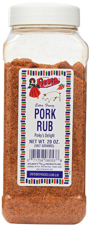 Bolner's Fiesta Pork Rub 20oz