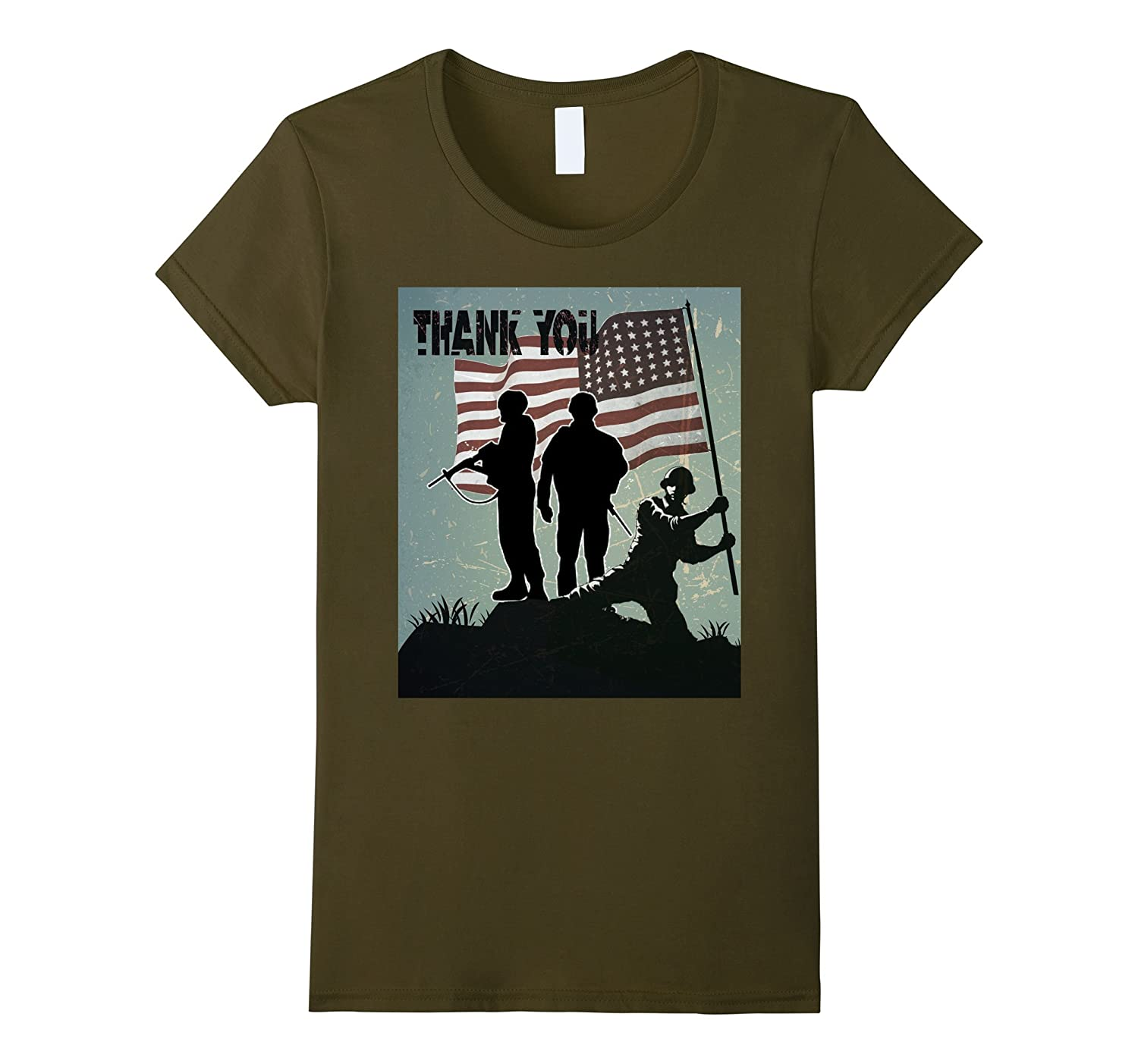 Thank you veterans in 4th of July – Independence day shirt