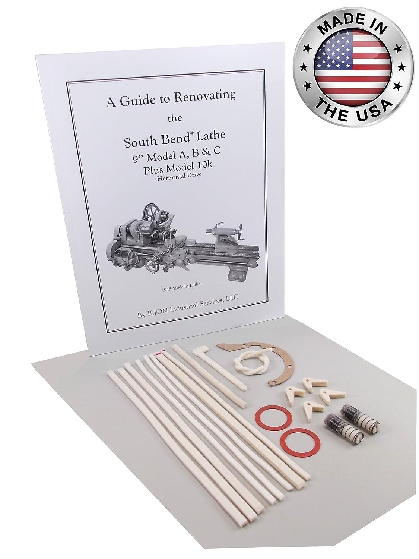 "Rebuild Manual /& Parts Kit South Bend Lathe 9/"" Model C"
