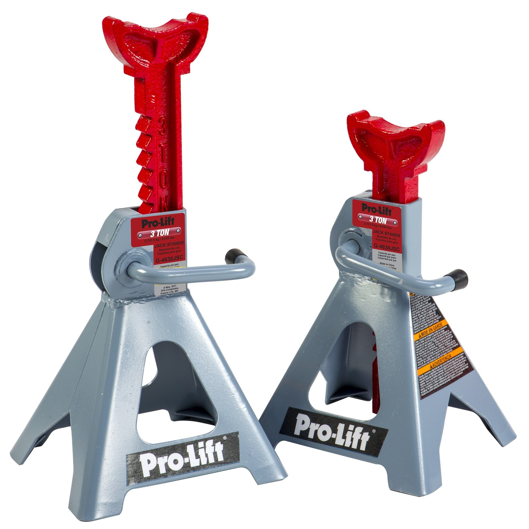 Pro Lift G-4630JSC 3 Ton Heavy Duty Floor Jack / Jack Stands and Creeper Combo - Great for Service Garage Home Uses by Pro-LifT (Image #3)