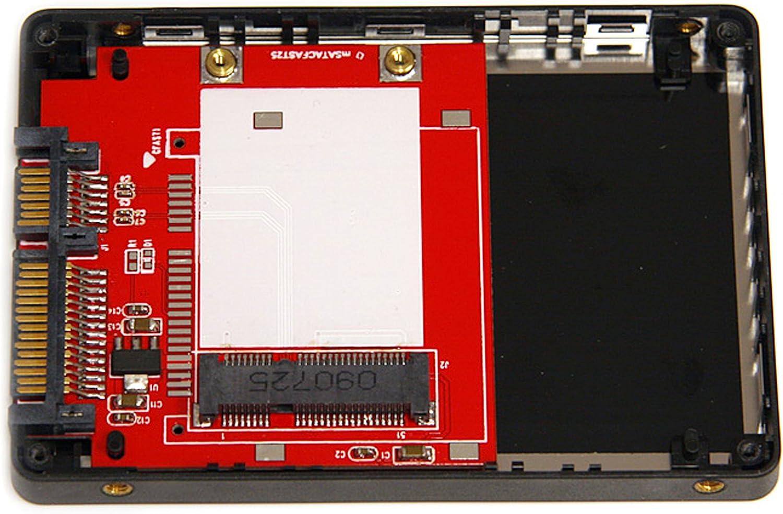 Supports SATA III /& RAID 0 35SAT225S3R StarTech.com Dual-Bay 2.5in to 3.5in SATA Hard Drive Adapter Enclosure with RAID JBOD Aluminum 1 Spanning