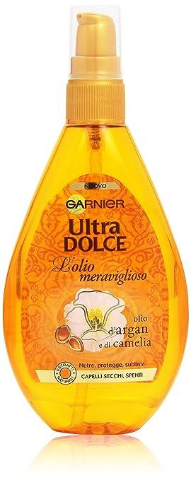 22 opinioni per Garnier Ultra Dolce Olio Meraviglioso Olio Spray per Capelli Secchi Spenti, 150