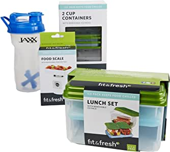 'Get in Shape' Kit with Shaker Cup & Portion Control Containers