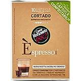 Caffe' Vergnano 1882 Espresso Macchiato - 5 confezioni da 10 pezzi [50 pezzi]