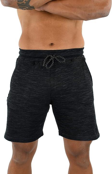 Pantaloncini Ronex Ideali per Fitness Palestra con Tasca Impermeabile con Cerniera. Casual