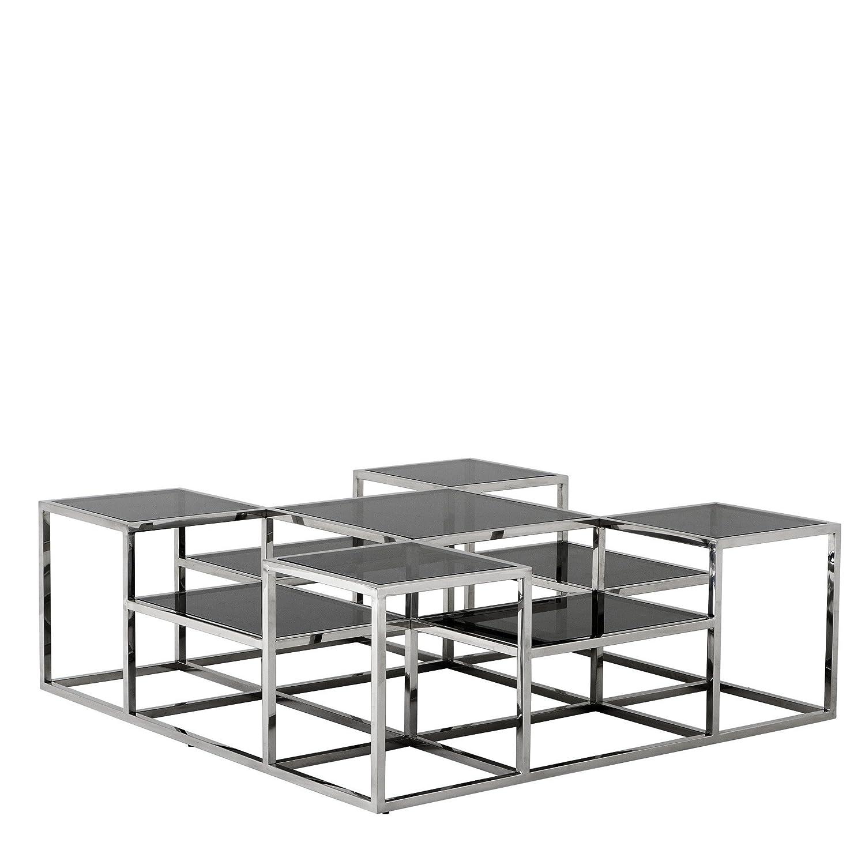 Wood And Metal Multi Level Coffee Table.Amazon Com Eichholtz Multi Level Coffee Table Smythson Kitchen