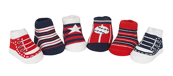 Baseball Organic Baby Socks