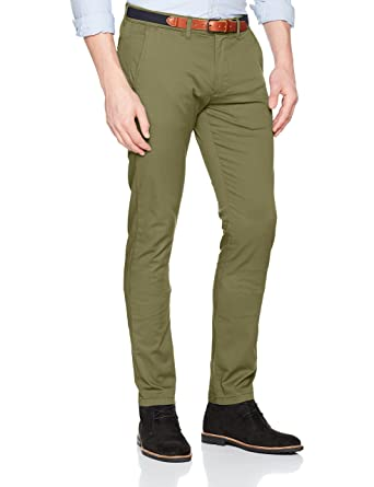 Mens Shhyard Dark Camel Slim St Pants Noos Trouser Selected cYNoYy6B
