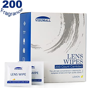 ibuytop 200 lente toallitas – prehumedecidas toallitas de limpieza Limpiador portátil de viaje con luz Fragancia