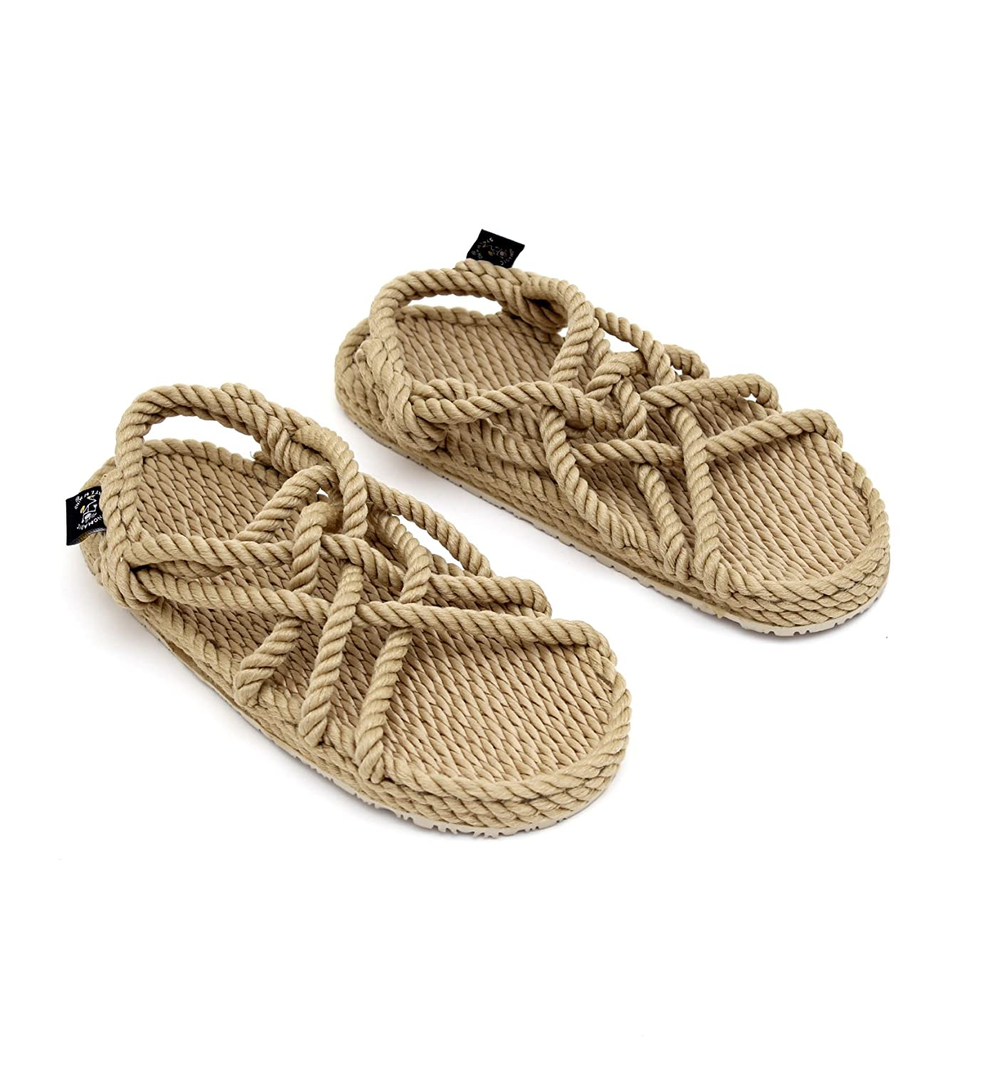 67a042df934820 Nomadics with sole unisex adults rope sandals shoes bags jpg 1380x1500 His rope  sandals