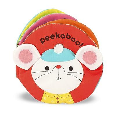 Melissa & Doug Soft Activity Baby Book - Peekaboo: Melissa & Doug: Toys & Games