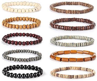 Bracelets Realistic Two Beaded Bracelets
