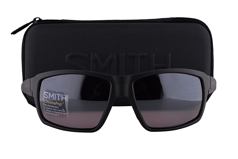 6768f3684ed Smith Colson Sunglasses Matte Black w Polarized ChromaPop Polarchromic  Ignitor Lens DL5 well-wreapped