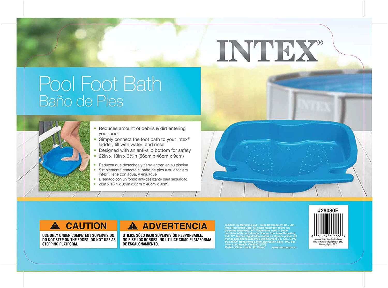 Intex Piscina Baño de pies para Piscinas: Amazon.es: Hogar