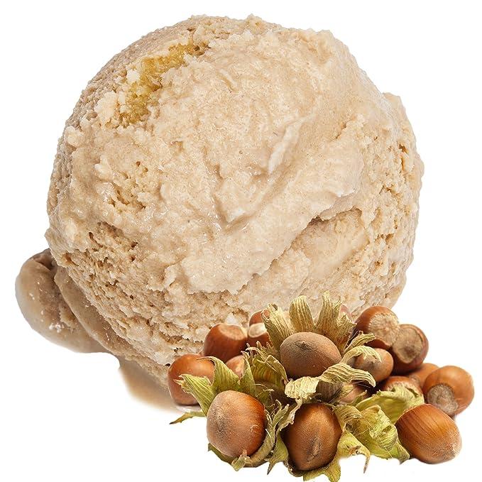 Sabor de avellana 1 Kg Helado de Gino Gelati Polvo para helado de leche Polvo de