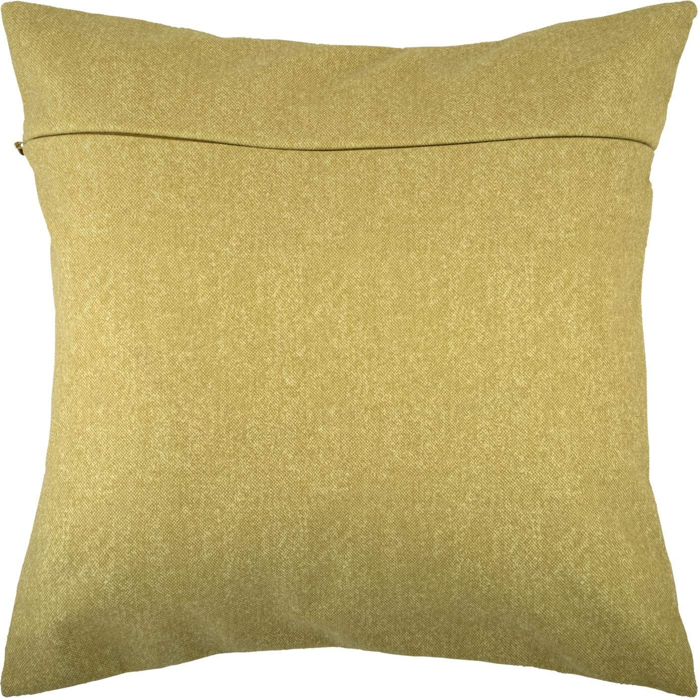 from Europe with Zipper Eggplant Velvet Backing 16 /× 16 inches for Throw Pillow Kits
