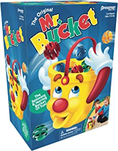 Mr. Bucket Game -- The Spinning & Moving Bucket of Fun! by Pressman