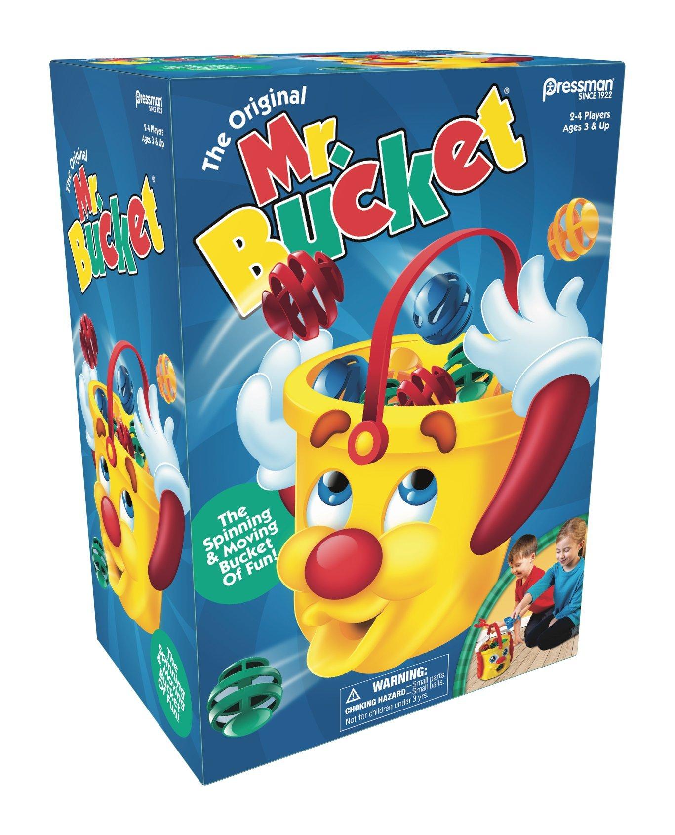 Pressman 6300-04 Toys Mr. Bucket Game, 5'', Multicolor