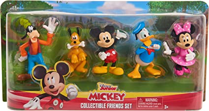 Disney Classics Mickey Mouse Clubhouse Deluxe Figure Set 5 Piece Set Collectable
