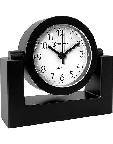 Timekeeper Desktop Swivel Clock for Desk  de964b769