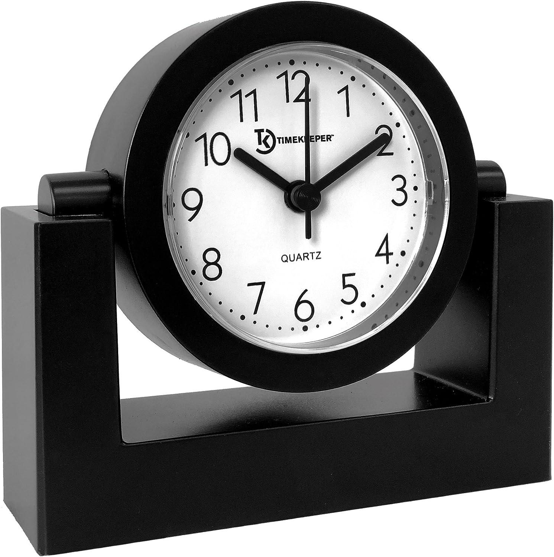 A picture of Timekeeper Desktop Swivel Clock