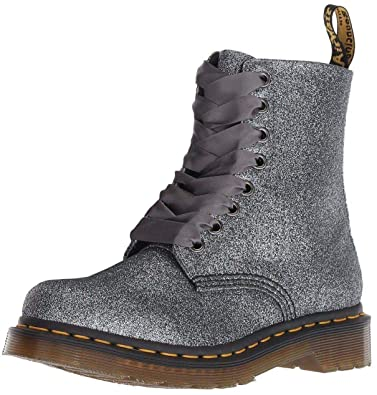91ae20c0287d Dr Martens 1460 Pascal Pewter Glitter 8 Eyelets Womens Boots  Amazon ...